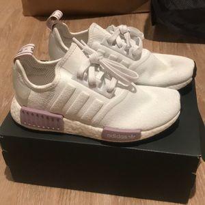 Adidas Originals NMD R1 - white and lavender